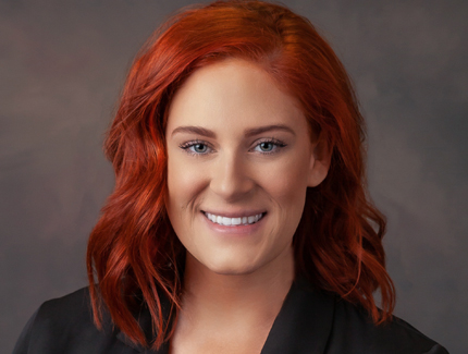 Photo of Carly Nahrwold, NP of Management